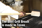 Grill cleaner brush