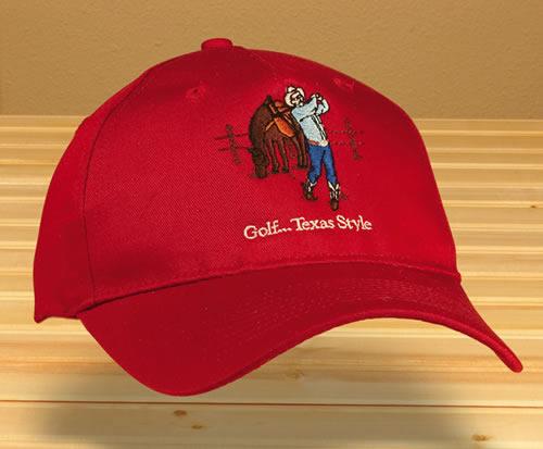 Golf ...Texas Style Cap