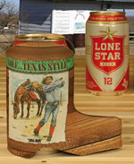 Golf ...Texas Style Boot Koozie