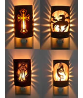 Custom Copper Nightlights