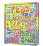 Play Share Original Art or Giclee Print by Hillary Rudolph