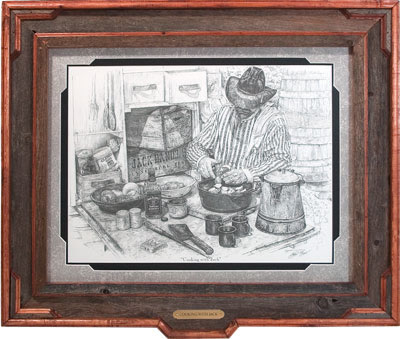 Cowboy Art 'Cooking with Jack'
