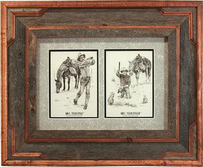 Golf...Texas Style - Framed Art
