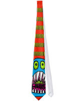 Frightened Monster Tie