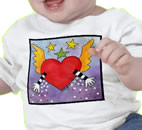Open Heart Baby T-Shirt