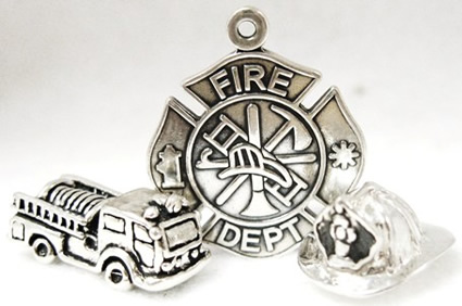Firefighter Pins, Tie Tacks
