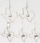 Texas Shaped Jewelry