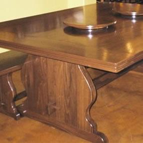 Custom Oversized Trestle Table