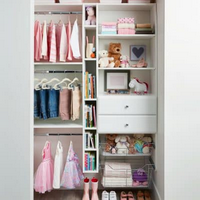 Reach-In Closet Design