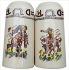 Rodeo Salt & Pepper Shakers