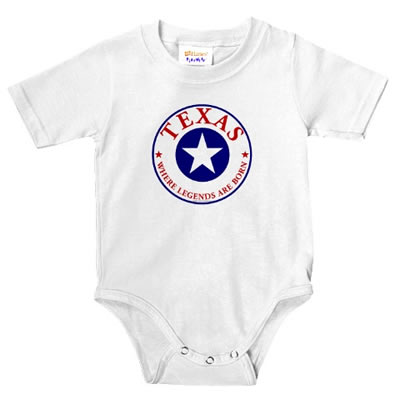 Texas Baby Shirt One-piece