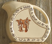 Boots & Saddle Western Dinnerware