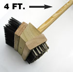 Double Sided BBQ Grill Brush
